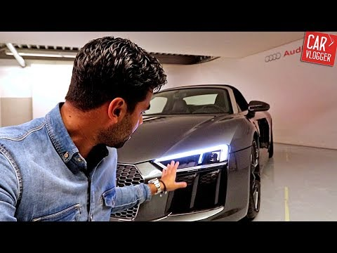 INSIDE the NEW Audi R8 V10 Spyder 2017 | Interior Exterior DETAILS w/ Revs