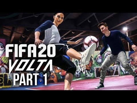 FIFA 20 VOLTA Gameplay Walkthrough Part 1 - FIFA STREET