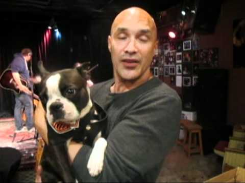 Chopper the Biker Dog's  musician friend, Dan Reed sending a message to Max Wasa