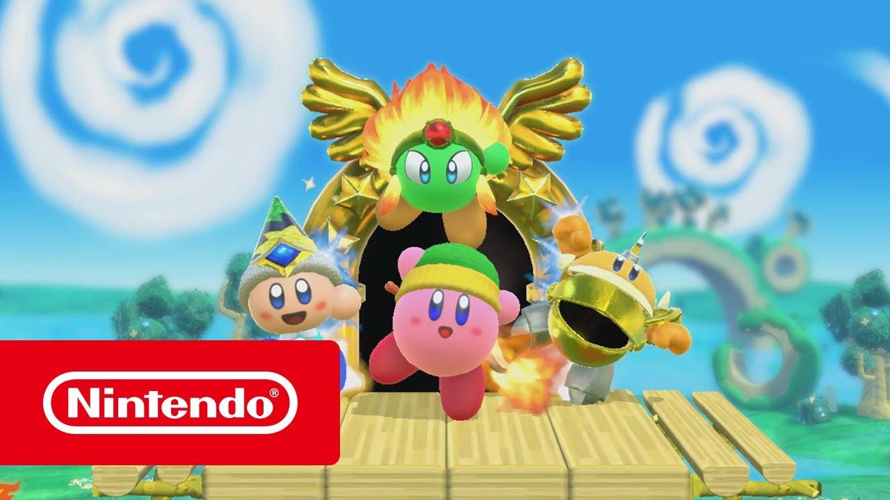 Create A Kirby Character Noll: Tráiler Del E3 2017 (Nintendo