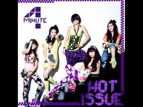4minute hot issue english version youtube 4minute hot issue english version stopboris Choice Image