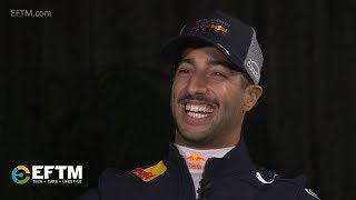 Daniel Ricciardo talks F1 in 2018, title hopes, contracts, grid girls, movies & more