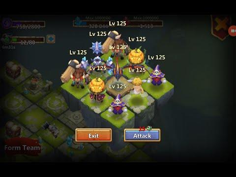 Castle Clash - Mega Team In Lost Realm