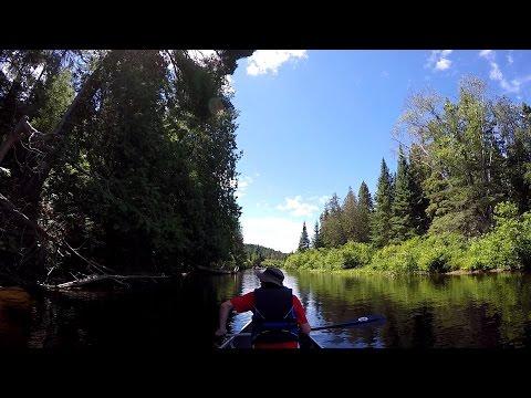 Canoeing At Algonquian Provincial Park