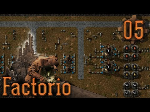#05: The Oil Operation [ Factorio — Noob to Pro ]