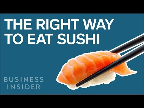 Nobu Shows You the Right Way To Eat Sushi