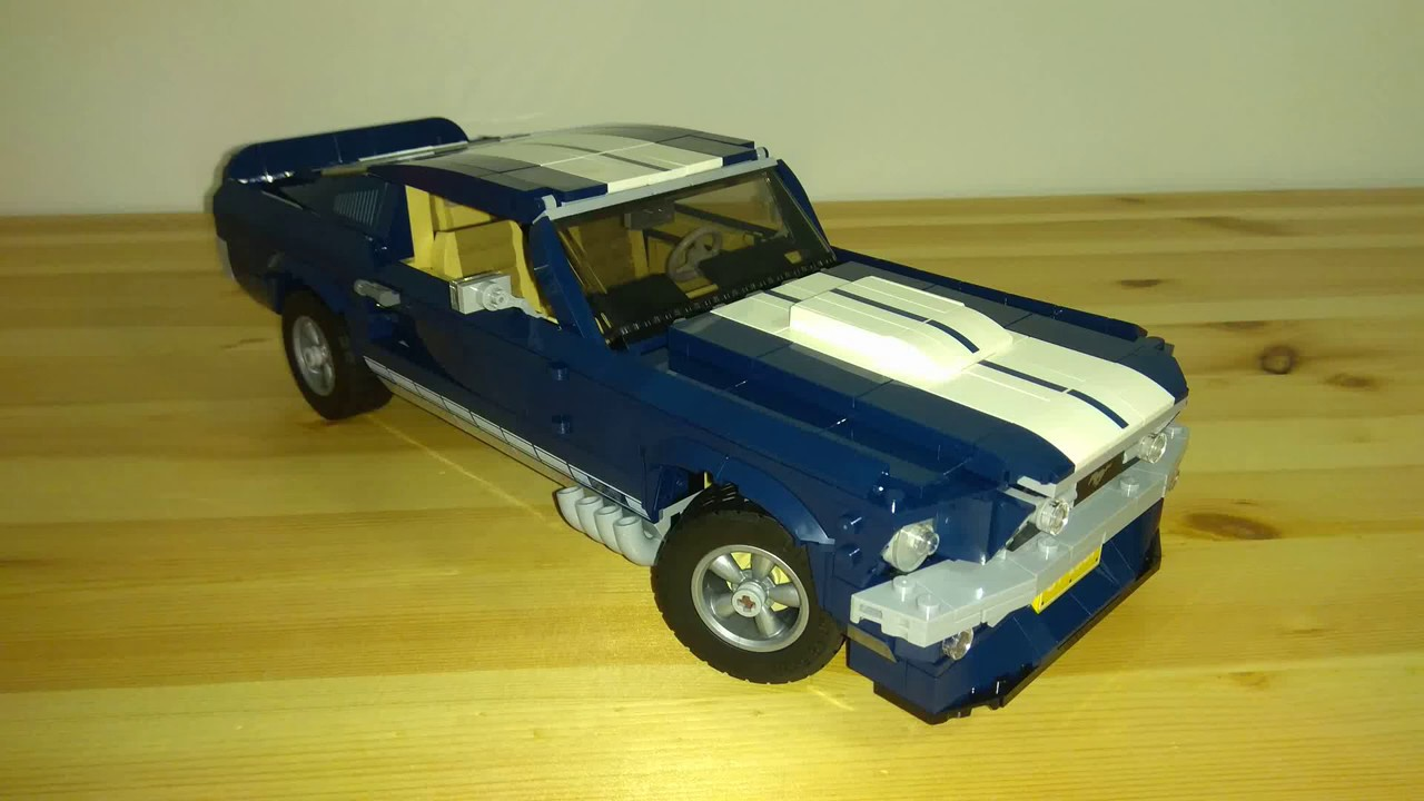 Lego 10265 Ford Mustang Creator Expert Building Youtube