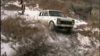 нива. зимний джип-кросс  Беслан