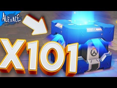 OVERWATCH UPRISING 101X LOOT BOX OPENING!? l OVERWATCH LOOT BOX OPENING!!