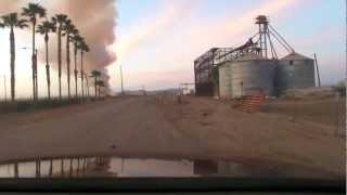 Brush Fire, Quechan Tribe, Fort Yuma Indian Reservation, 2012, 04/02 19:03:30