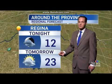 CFQC: CTV News Saskatoon At 6pm Weather Forecast---2016