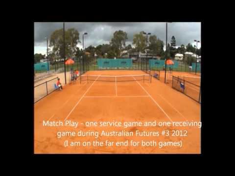 Dimitri Vidin College Tennis Video
