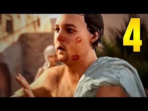 "Assassins Creed Origins Walkthrough - Part 4 ""CROCODILE ATTACK"" (Let's Play)"
