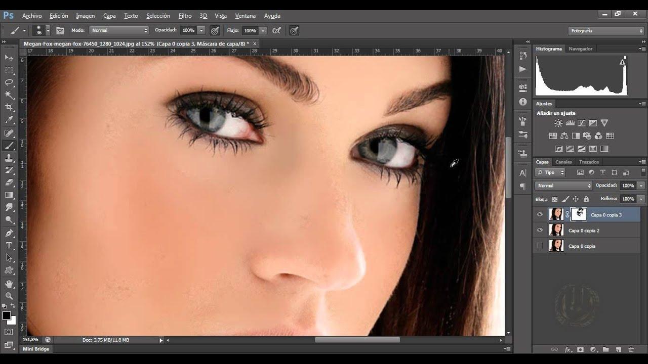 Cambiar Color Del Cabello Con Photoshop Cc O Cs6 By Tito Mella Alvarez