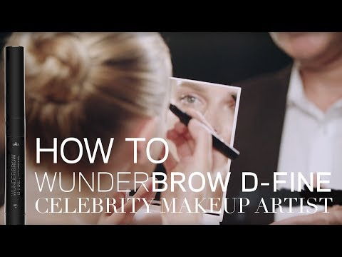 HOW TO: WUNDERBROW D-FINE with Matin Maulawizada