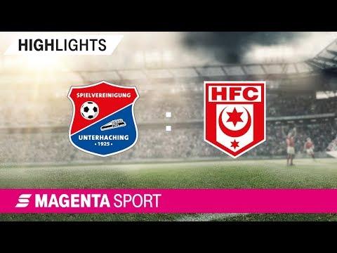 SpVgg Unterhaching - Hallescher FC | Spieltag 6, 19/20 | MAGENTA SPORT