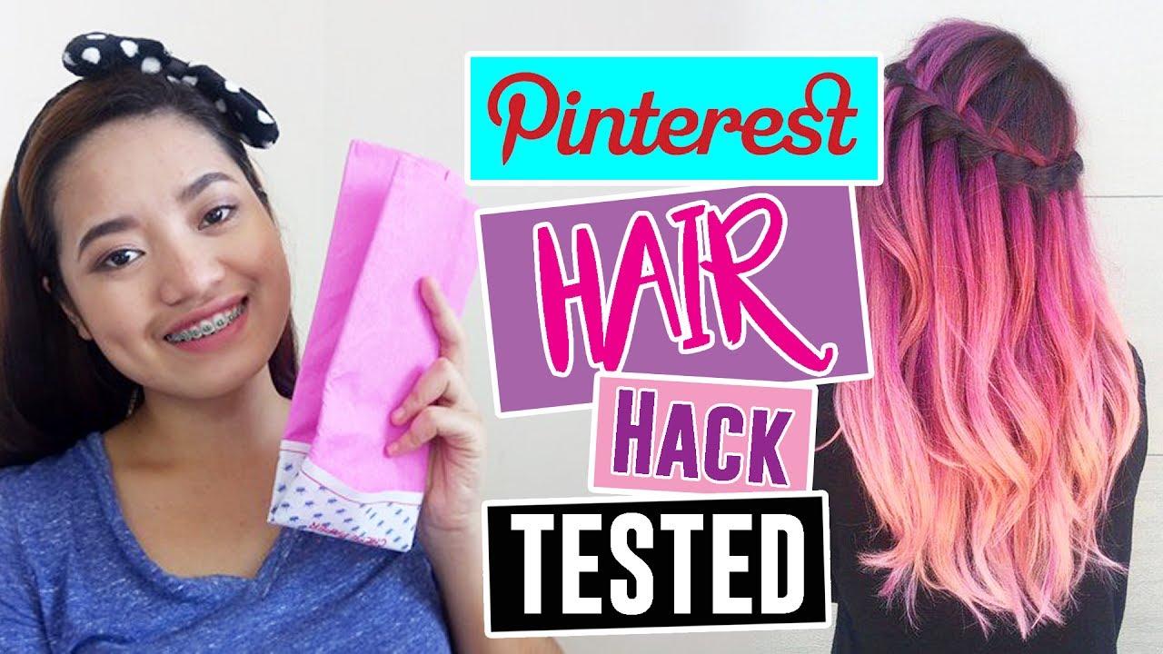 DIY Hair Dye for 10 Pesos Only!! (Perfect sa Nagtitipid ...