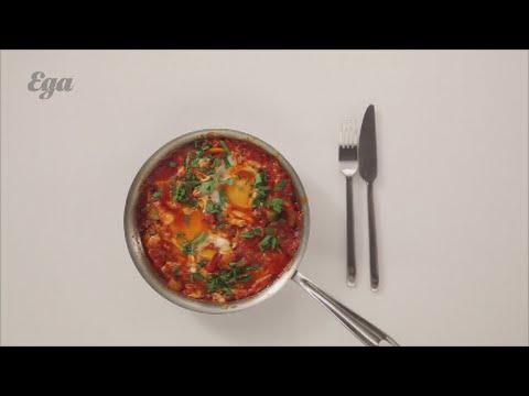Шакшука I Завтраки I Вегетарианская едаиз YouTube · Длительность: 4 мин17 с  · Просмотров: 402 · отправлено: 11.02.2016 · кем отправлено: Еда I Рецепты