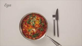 Шакшука I Завтраки I Вегетарианская еда