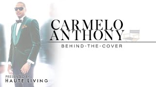 Swizz Beatz Interviews NY Knick Carmello Anthony for Haute Living Cover Shoot