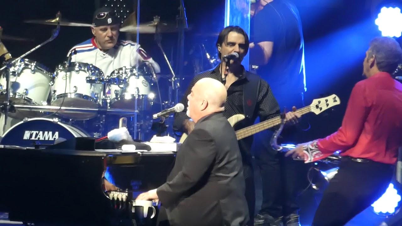 Scenes From An Italian Restaurant Billy Joel Madison Square Garden New York 12 20 17 Youtube