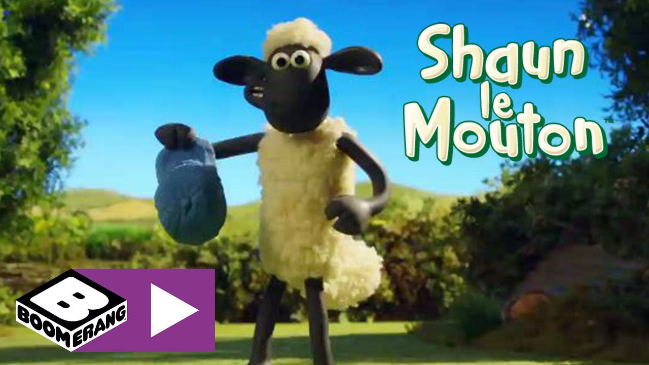 dessin animé shaun the sheep