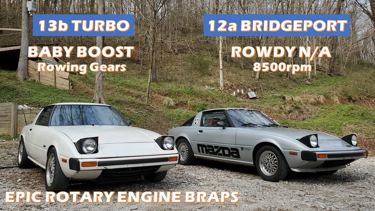 Download 12a Rotary Race Engine VS Stock Turbo Rotary 13b - Which one is faster?