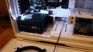 Projeto FrostBlue #2 - Fonte nova, cabos e LEDs