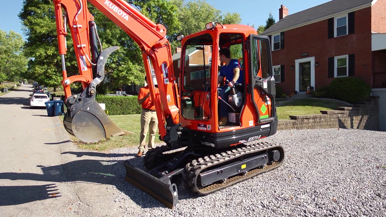 Changing the Control Pattern on a Kubota Mini Excavator
