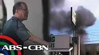PNoy dinalaw ang mga biktima ng pagsabog sa Zamboanga
