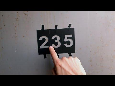 Как сделать трафарет своими руками цифры