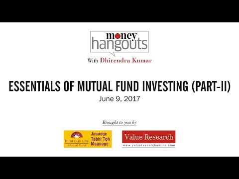 3 Essentials of Mutual Fund Investing (Part II)