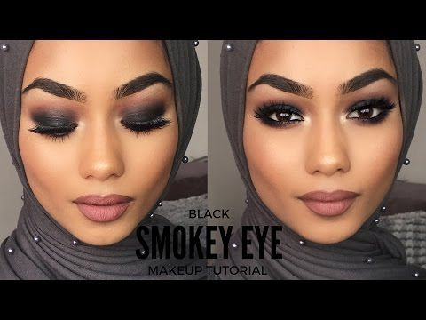 BLACK SMOKEY EYE | MAKEUP TUTORIAL