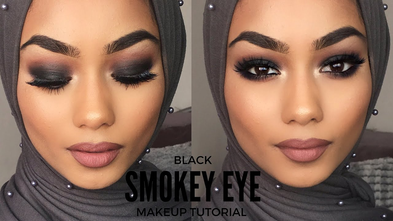 Black Smokey Eye Makeup Tutorial Youtube