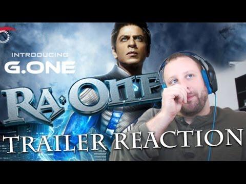 Ra.One Trailer Reaction - Shah Rukh Khan walking on Air!?