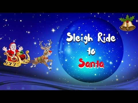 Guided Meditation for Kids | SLEIGH RIDE TO SANTA | Christmas Meditation Story