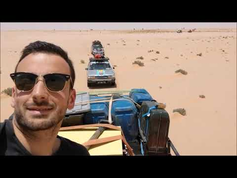 Gopro Trip from Portugal to Guiné-Bissau by car. (Spain, Marroco, Sahara, Mauritânia, Senegal)