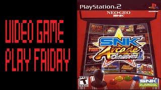 VGP: SNK Arcade Classics Vol. 1 PS2