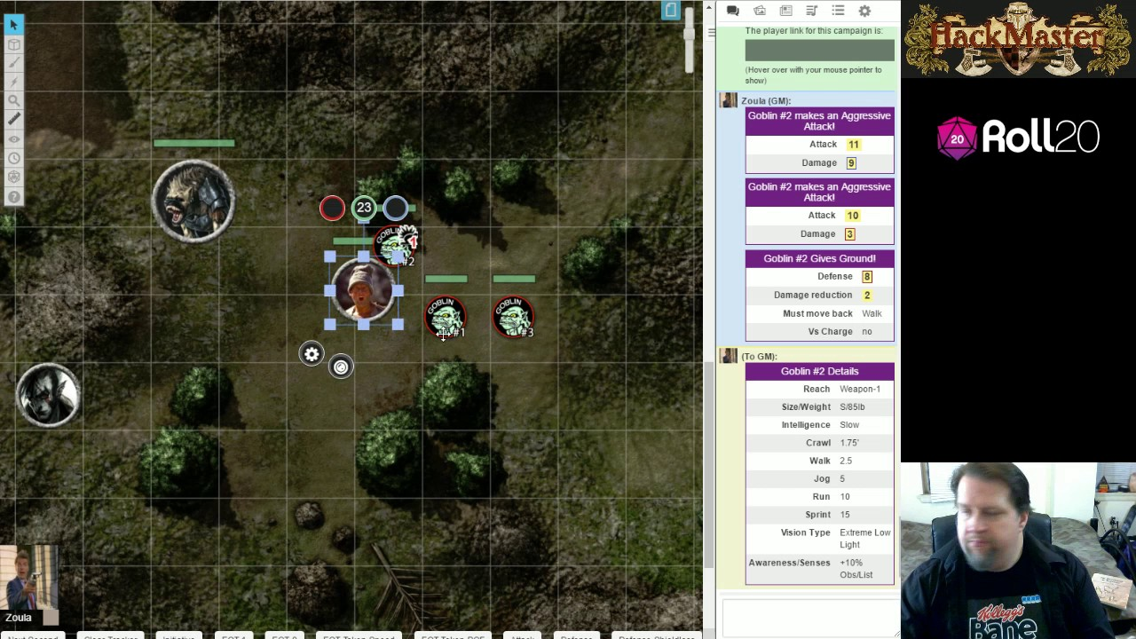 Hackmastering Roll20 #7 - Combat Maneuvers & Automated TokenMods