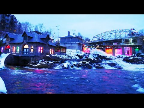 Bracebridge Falls Lights - Bracebridge Ontario Canada