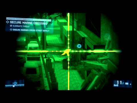 Battlefield 3 Walkthrough: Mission 8 NIGHT SHIFT PT 1/2 Gameplay