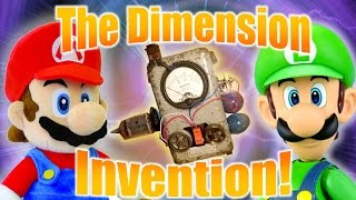 The Dimension Invention! (Part 1) - Cute Mario Bros.
