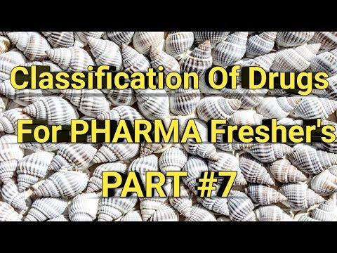Classification Of Pharmacology Drugs Part #7 For Pharma Fresher's    Pharma Guide
