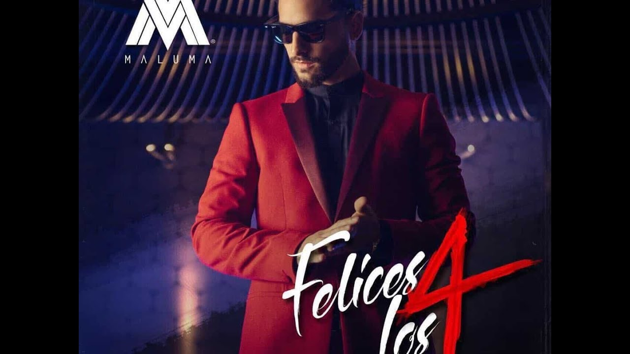 Maluma-Felices los 4 (Official Audio) - YouTube