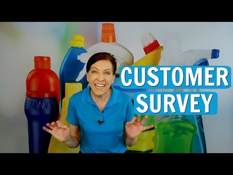 Customer Survey for House Cleaning Clients