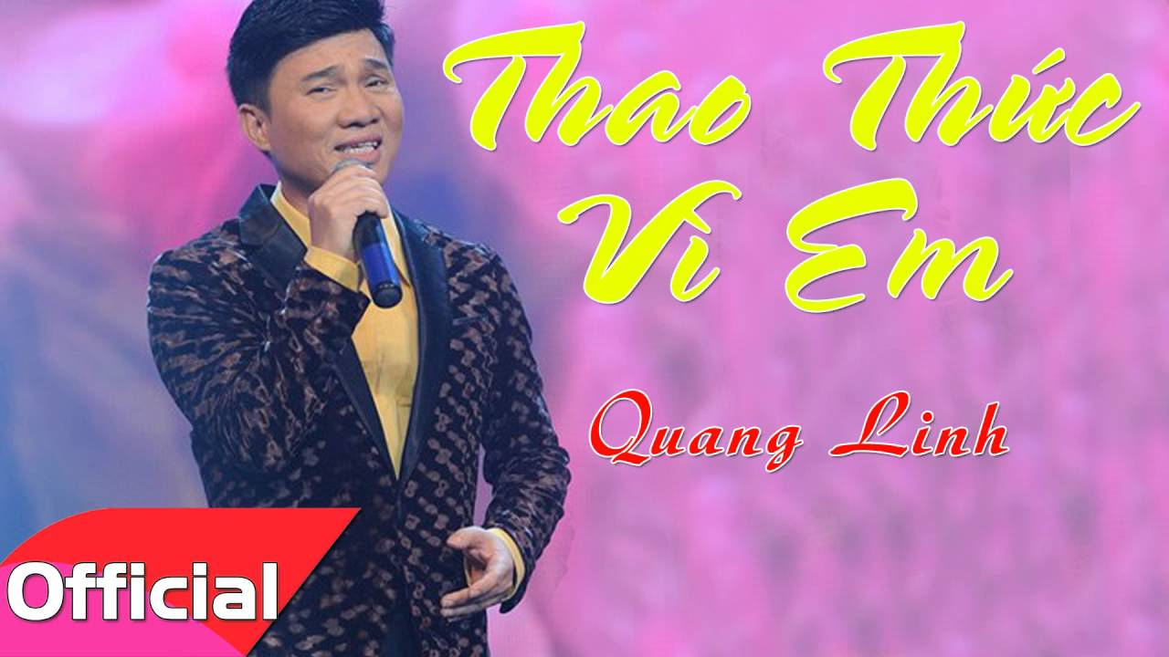 Thao Thức Vì Em - Quang Linh [Official Audio]