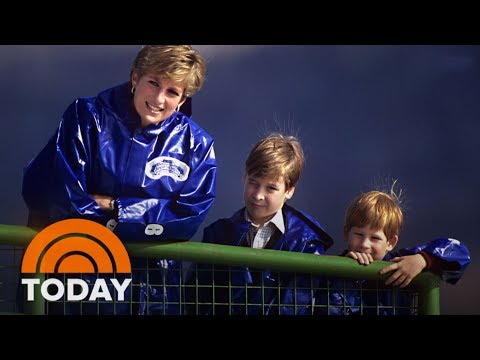 Prince William And Prince Harry Honor Legacy Of Princess Diana | TODAY