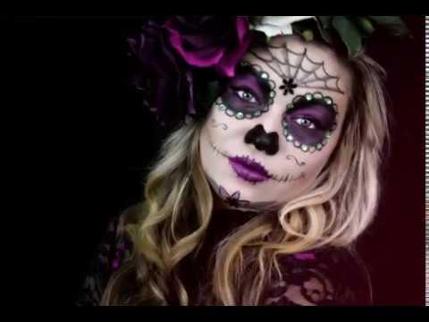 Maquillaje De Catrinas Colección Los Más Hermosos Youtube