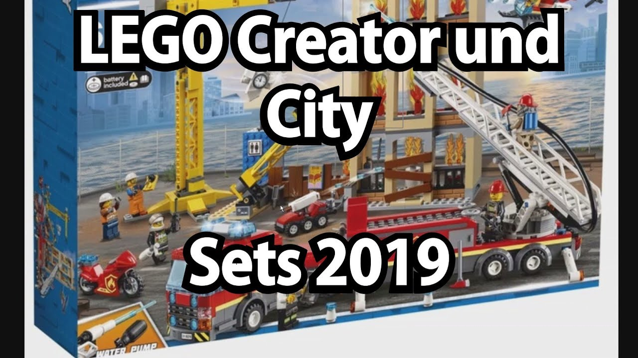 lego creator und city sets 2019 klemmbausteinlyrik news. Black Bedroom Furniture Sets. Home Design Ideas