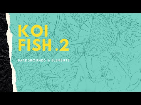 How To Draw Koi Fish  - Part 2